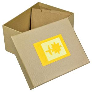 Green Earth Yellow Flower Photo Box for 700 6x4 Photos