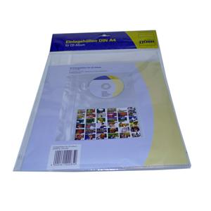 Dorr CD and 6x4 Index Sheet A4 Pockets for Ring Album | 10 Pack