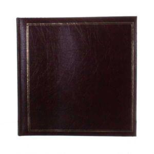 Classic Large Burgundy Traditional Photo Album - 100 Sides