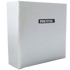 Elegance White 7x5 Slip In Photo Album - 200 Photos