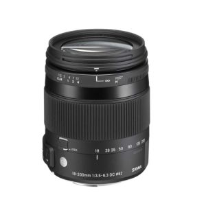 Sigma 18-200mm F3.5-6.3 DC Macro OS HSM C Lens - Canon Fit