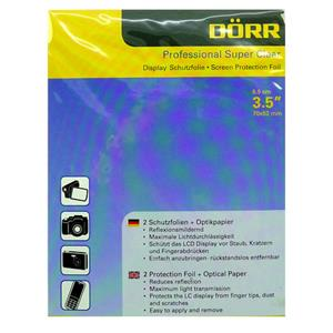 Dorr Professional Super Clear Display Protector Foil 3.5