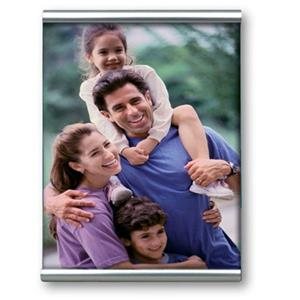 Double Bar and Glass Front Photo Frame Collection 8x6 Inch