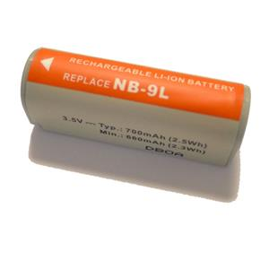 Dorr NB-9L Lithium Ion Canon Type Battery