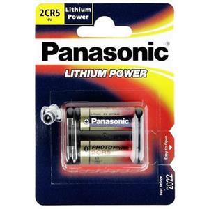 Panasonic 2CR5 6V Lithium Battery