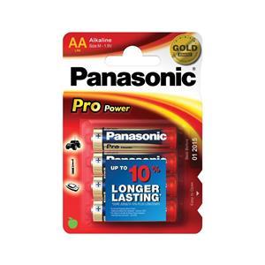 Panasonic Pro Power LR6 AA Batteries - 4 Packs