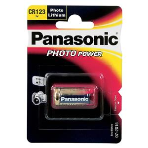 Panasonic CR123A 3C Lithium Battery