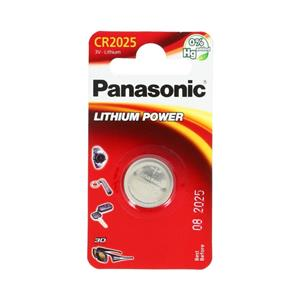 Panasonic CR2025 3V Lithium Battery