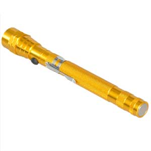 Dorr TLM-556 LED Telescopic Torch - Yellow
