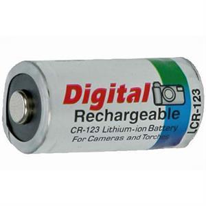 Dorr Power Base CR-123 Lithium Battery