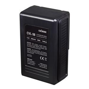 Dorr CVL-98 Compact V-Mount Li-Ion Battery