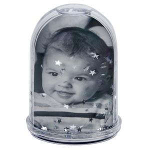 Dorr High Photo Snow Globe with Silver Stars