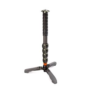 3 Legged Thing Alan Carbon Fibre Monopod with Docz Foot Stabiliser