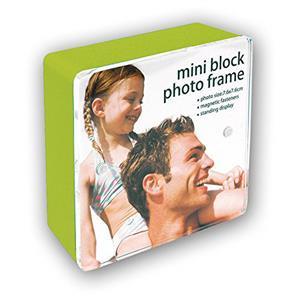 Green Mini Block Photo Frame