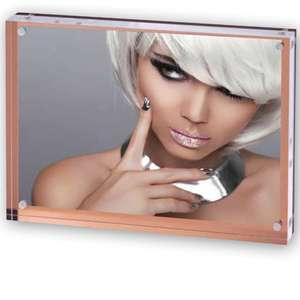 Jersey Acrylic Photo Block with Bronze Back 10x15cm