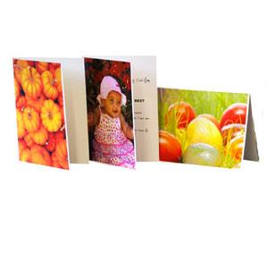 Permajet Greeting Cards and Envelopes, Gloss, A5, 300gsm, 25 Pack
