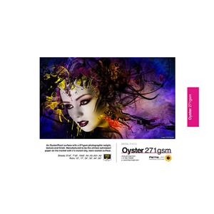 Permajet Oyster 271 Printing Paper 10x8  - 25 Sheets