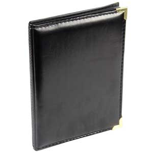 Carlton Leatherette Black 7.5x5 Slip In Photo Album - 36 Photos
