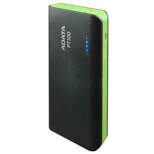 Adata Power Bank 10000mah Fast Charging Dual USB Output Flashlight 2.1A