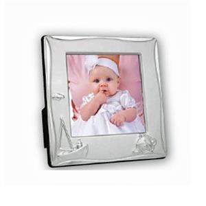 Cornice Yacht Silver Plated 3.25x3.25 Photo Frame