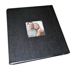 Aztec Black Slip In 6x4 Photo Album - 200 Photos