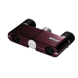 Nikon 4x10 DCF Binoculars - Burgundy