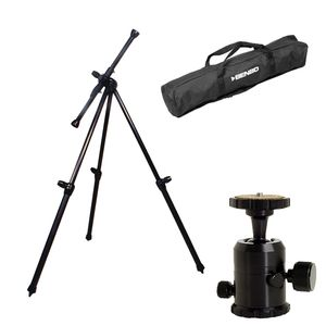 Benbo Classic 2 Aluminium Tripod Kit with Pro Ball Head and Bag | 256CM Max. Height | 3.75KG Weight
