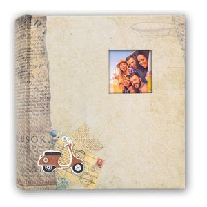 Bogota Brown 6.5x4.5 Slip In Photo Album - 200 Photos Overall Size 8.5x9.5