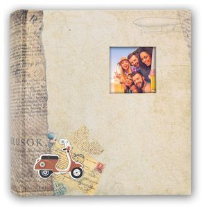 Bogota Brown 7.5x5 Slip In Photo Album - 200 Photos Overall Size 11x9.5