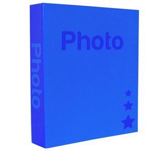 Basic Dark Blue 6.5x4.5 Slip In Photo Album - 300 Photos Overall Size 10.75x8