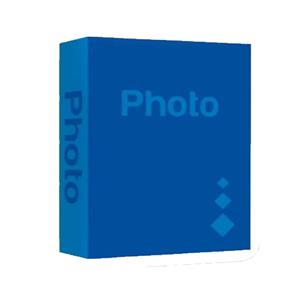 Basic Dark Blue 6x4 Slip In Photo Album - 402 Photos