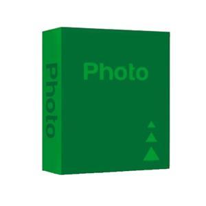 Basic Green 6x4 Slip In Photo Album - 402 Photos