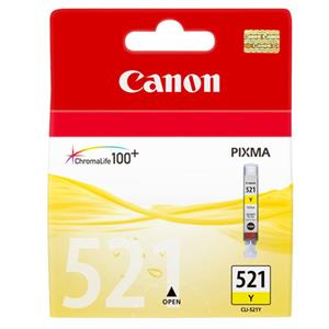 Canon CLI-521 Yellow Printer Ink Cartridge