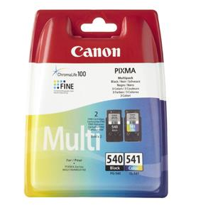 Canon PG540 Black and CL541 Colour Printer Ink