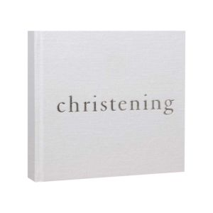 Bambino Linen Photo Album - Christening