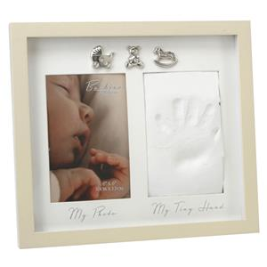 Bambino Baby Hand Print Photo Frame