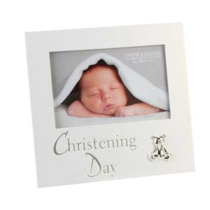 Christening Day 6X4 Pearlised Photo Frame