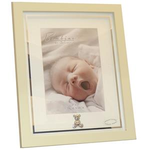 Bambino Baby Teddy Feet Glass 5x7 Photo Frame
