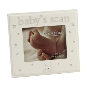 Bambino Baby's Scan 4x3 Photo Frame