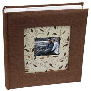 Cottage Glories Brown 6x4 Photo Album - 200 Photos
