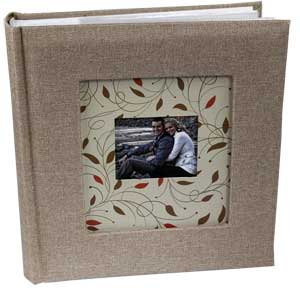 Cottage Glories Beige 6x4 Photo Album - 200 Photos