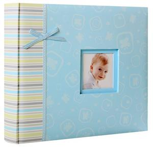 Claire Baby Blue 6x4 Photo Album 48 Photos Overall Size 8.5x10.25