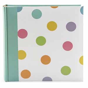 Candy Spots 7x5 Slip In Photo Album, 200 Photos