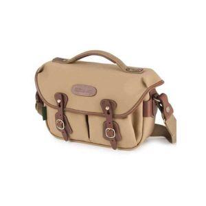 Customer Return Billingham Hadley Small Pro Camera Bag - Khaki Canvas Tan Leather