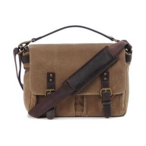 Customer Return ONA Prince Street Tan Messenger Bag