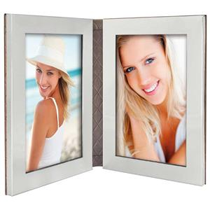 Chios Bronze Twin 6x4 Photo Frame