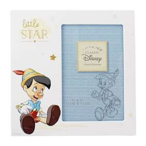 Disney Pinocchio 6x4 Photo Frame Overall Size Approx 7.5 Inches Square