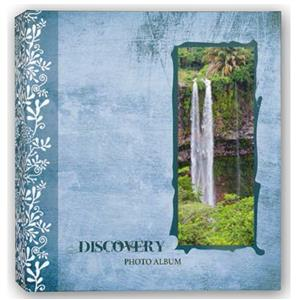 Discovery Blue 6.5x4.5 Slip In Photo Album - 200 Photos