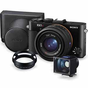 Sony RX1R II | 42.4 MP | Full Frame CMOS Sensor | Full HD Video | Premium Accessory Kit