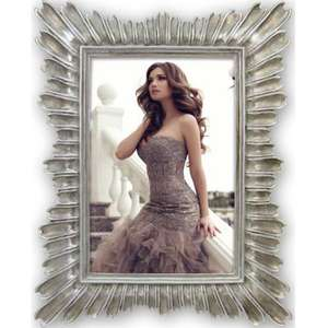 Andenne Grey Metal Photo Frame for 6x4 inch Photo